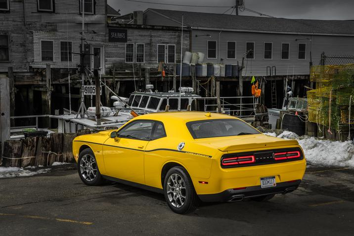 2017 Dodge Challenger Gt The Only Two Door All Wheel Drive American