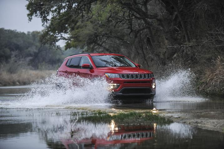 2017 Jeep Compass Red Exterior