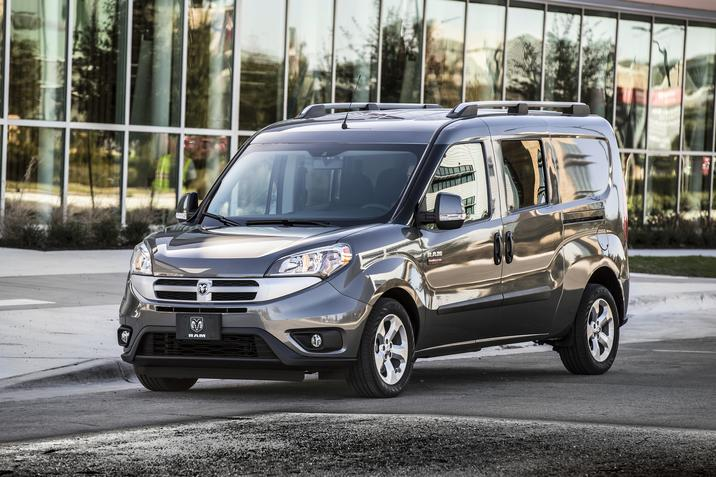 2018 Ram ProMaster City Front Gray Exterior